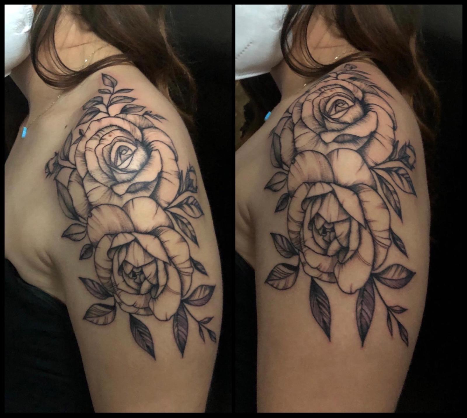 shoulder rose